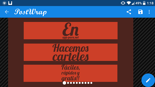 app para hacer carteles android