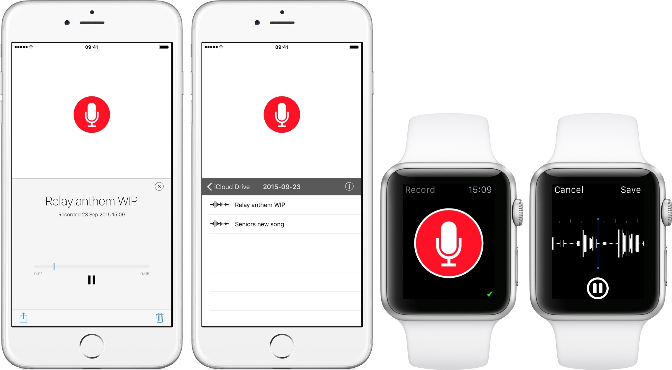 app para smart watch just press