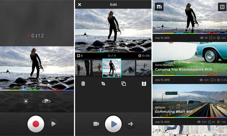 Mixbit app para hacer editar y unir videos iphone