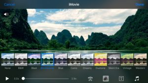 imovie para acelerar videos